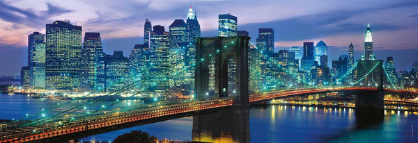 Clementoni New York Brooklyn Bridge Panorama High Quality Jigsaw Puzzle (1000 Pieces)