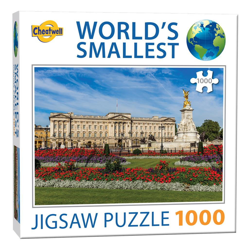 World's Smallest 1000 Piece Jigsaw - Buckingham Palace (1000 Pieces)