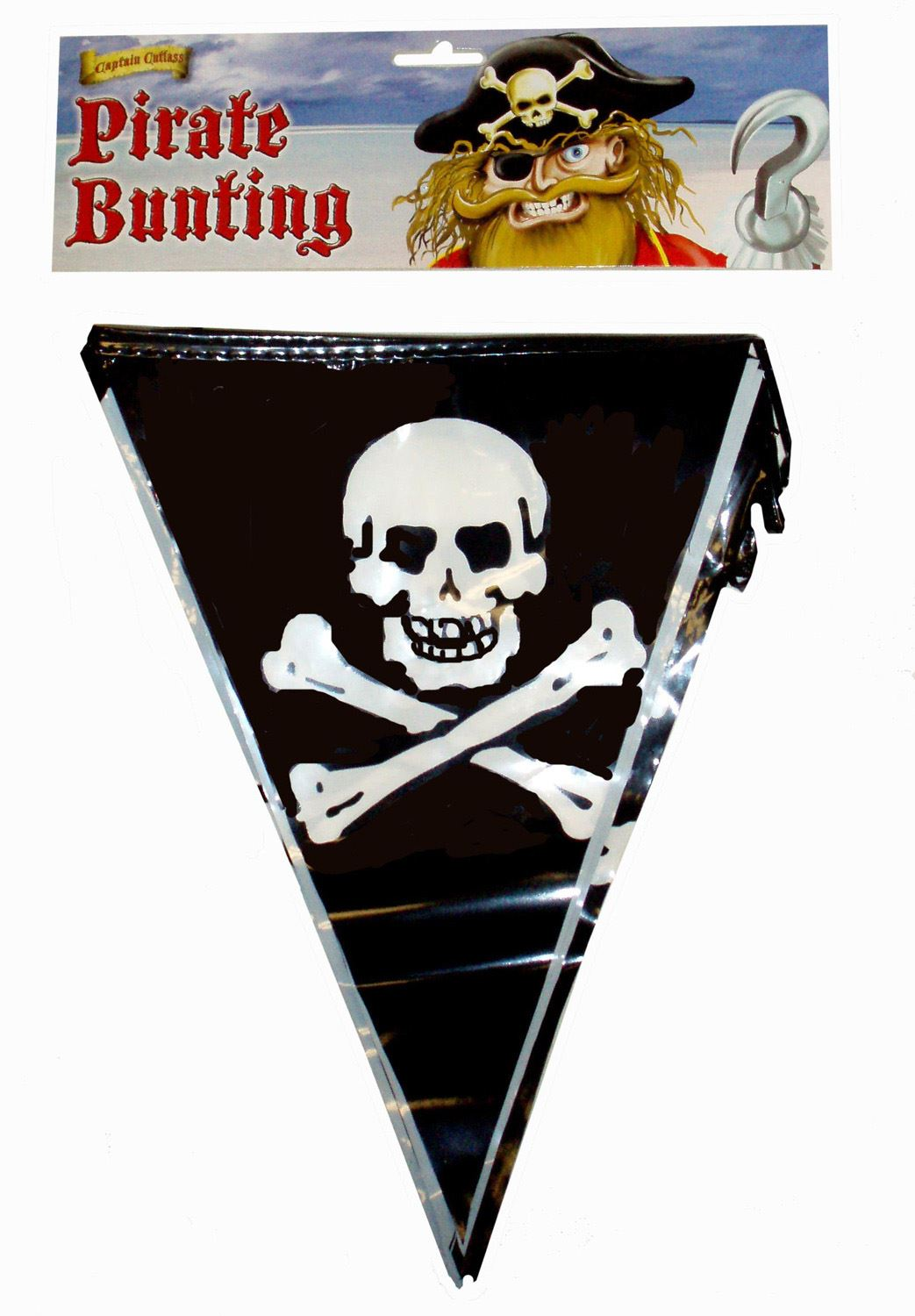 Pack of 12 Pirate Bunting 3.6m - F30 363