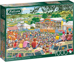Falcon Deluxe Summer Music Festival Jigsaw Puzzle (1000 Pieces)