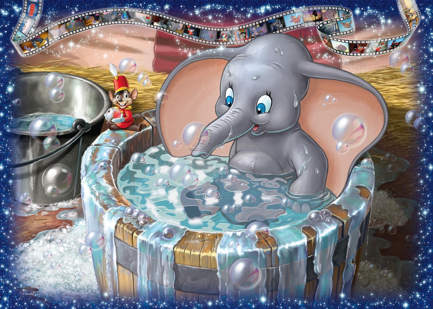 Ravensburger Disney Collector's Edition Dumbo Jigsaw Puzzle (1000 Pieces)