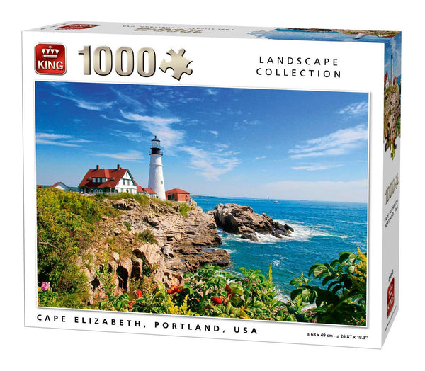 King Cape Elizabeth Jigsaw Puzzle (1000 Pieces)