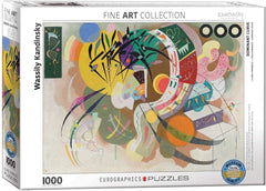 Eurographics Dominant Curve, Kandinsky Jigsaw Puzzle (1000 Pieces)