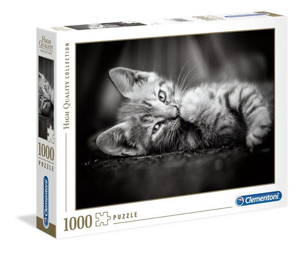 Clementoni Kitty High Quality Jigsaw Puzzle (1000 Pieces)