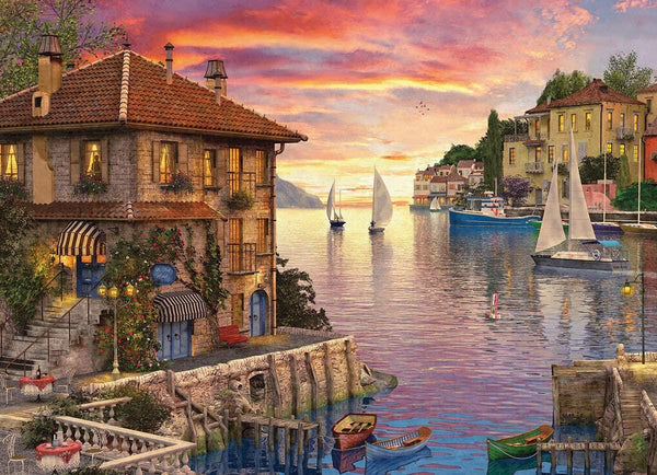 Eurographics Mediterranean Harbour Jigsaw Puzzle (1000 Pieces)