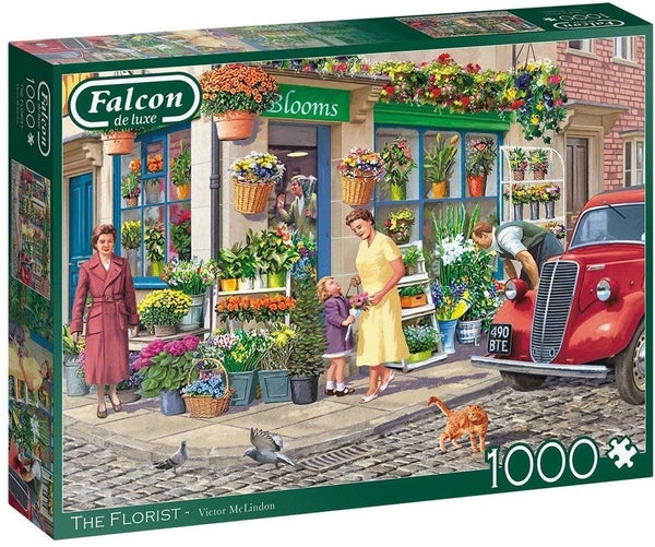 Falcon Deluxe The Florist Jigsaw Puzzle (1000 Pieces)