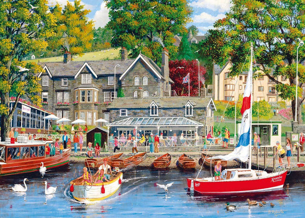 Gibsons Summer in Ambleside Jigsaw Puzzle (1000 Pieces)