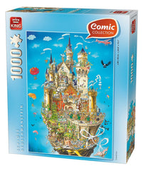 King Schloss Neuschwanstein Jigsaw Puzzle (1000 Pieces)