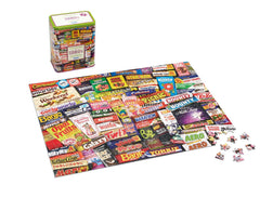 Gibsons 1980s Sweet Memories  Jigsaw Puzzle in Gift Tin (500 pieces)