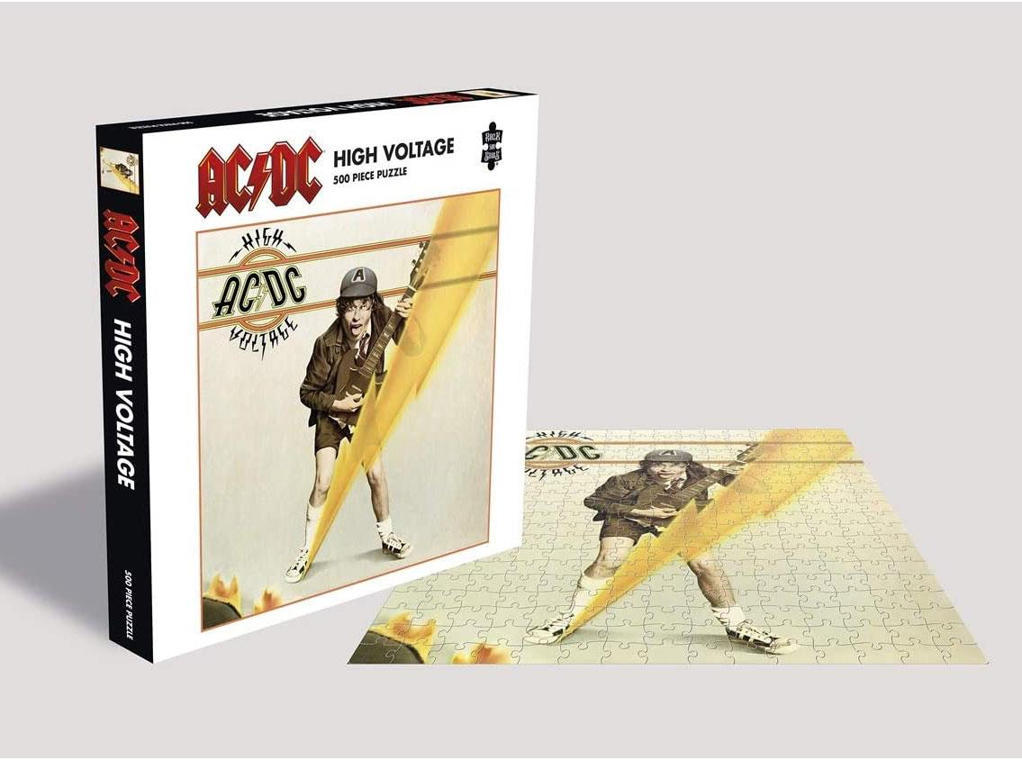 AC/DC High Voltage Jigsaw Puzzle (500 Pieces)