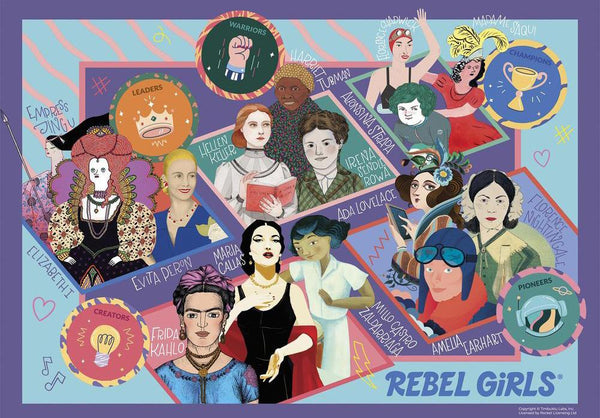 Gibsons Rebel Girls Jigsaw Puzzle (100 XXL Pieces)