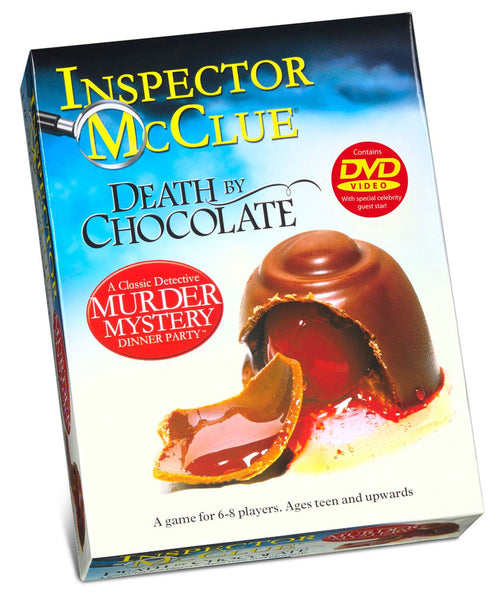 Inspector McClue Murder Mystery - Death By Chocolate - DAMAGED