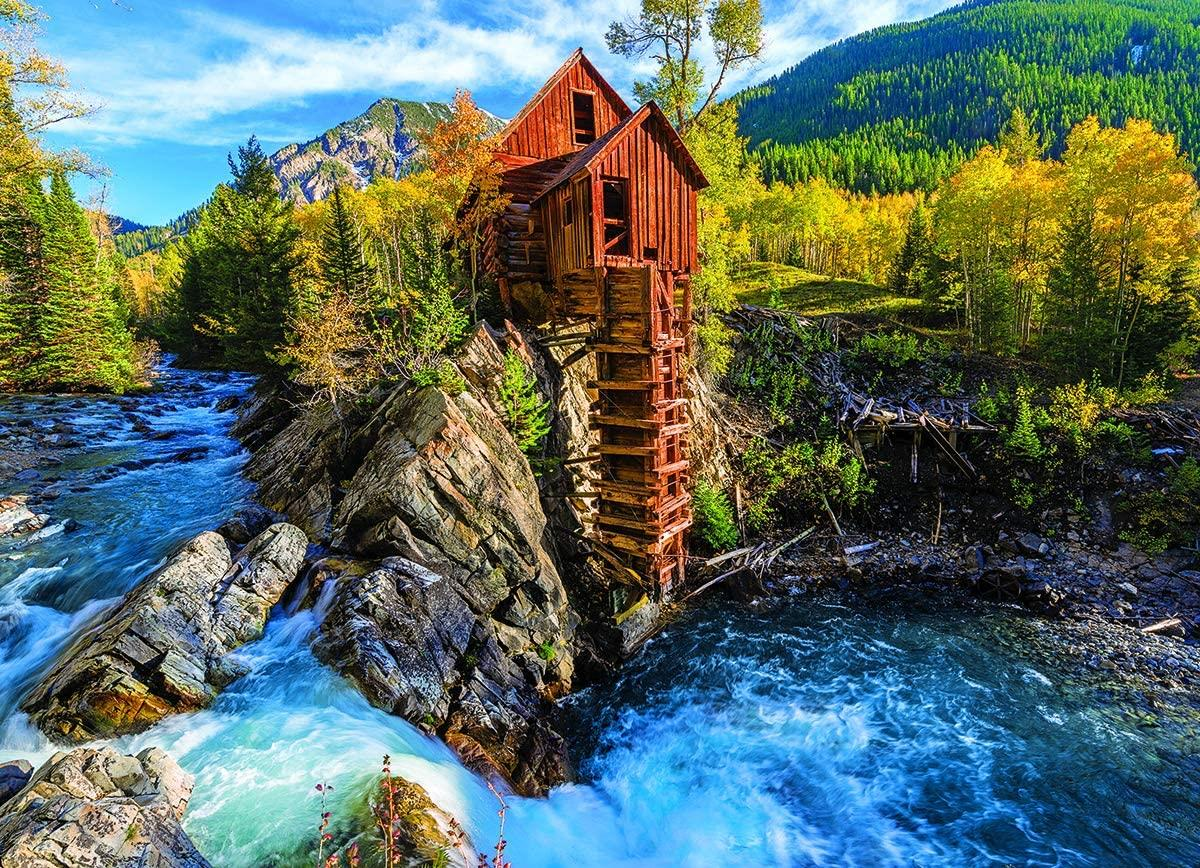 Eurographics Crystal Mill Jigsaw Puzzle (1000 Pieces)