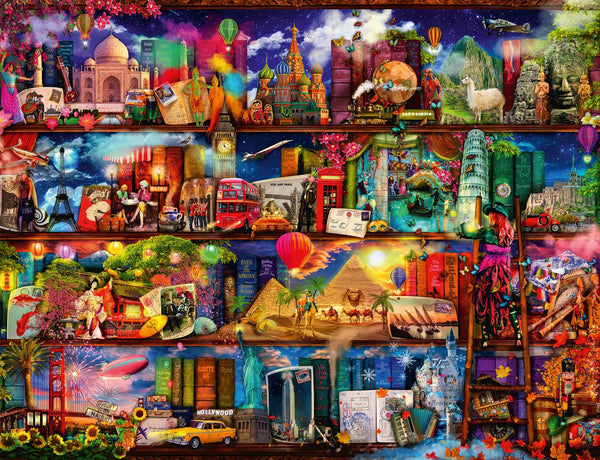 Ravensburger Travel Shelves Jigsaw Puzzle (2000 Pieces)