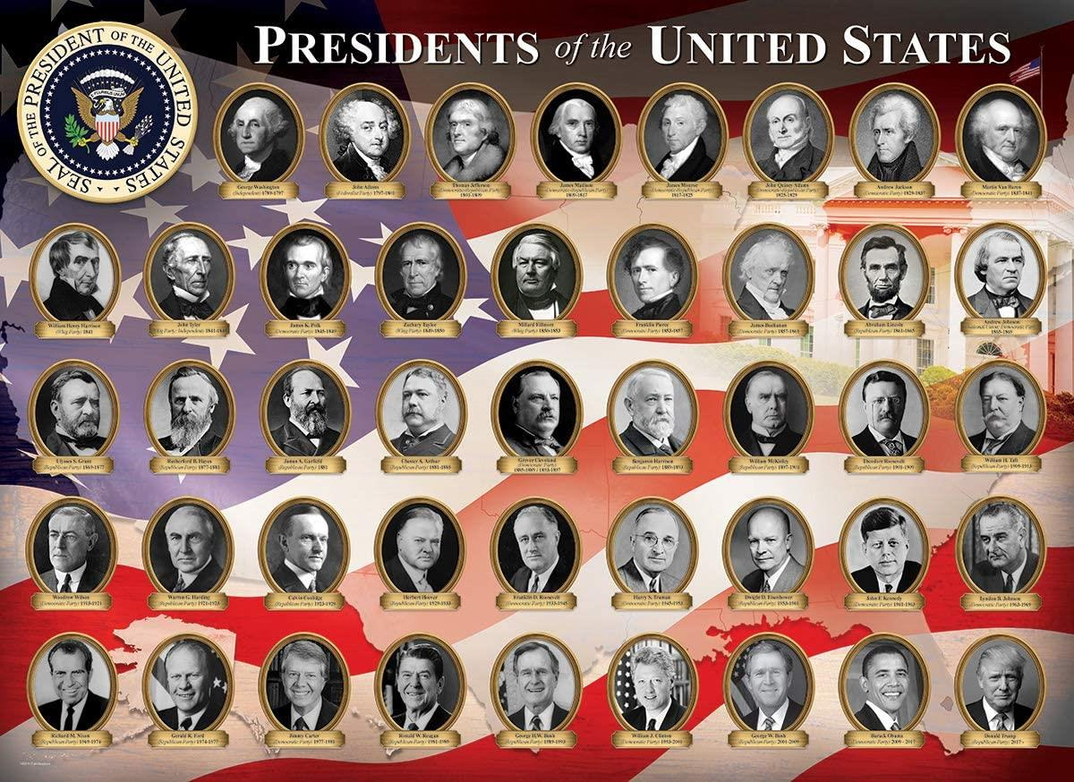Eurographics Presidents of the United States Jigsaw Puzzle (1000 Pieces)