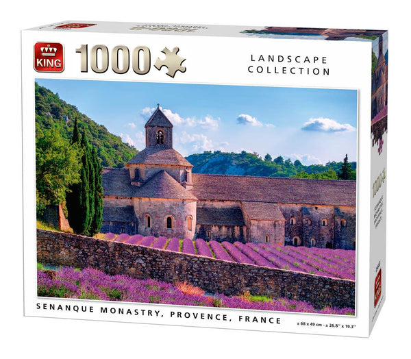 King Senanque Monastry, Provence, France Jigsaw Puzzle (1000 Pieces)