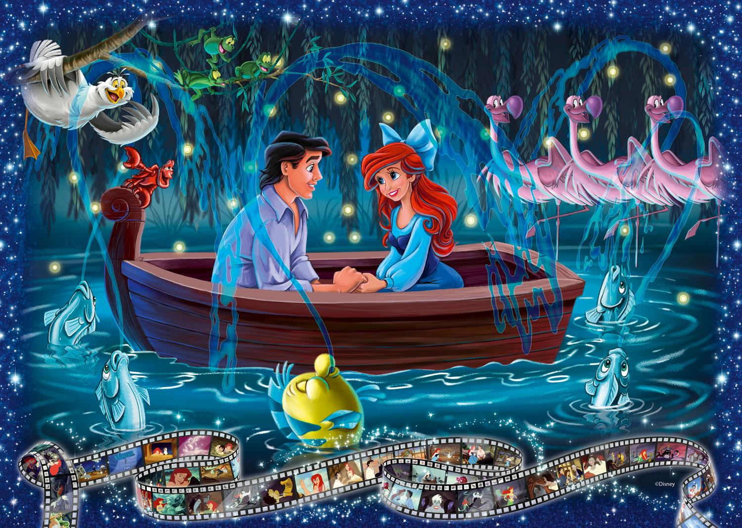 Ravensburger Disney Collector's Edition Little Mermaid Jigsaw Puzzle (1000 Pieces)