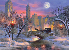 Eurographics Christmas Eve in New York City Jigsaw Puzzle (1000 Pieces)