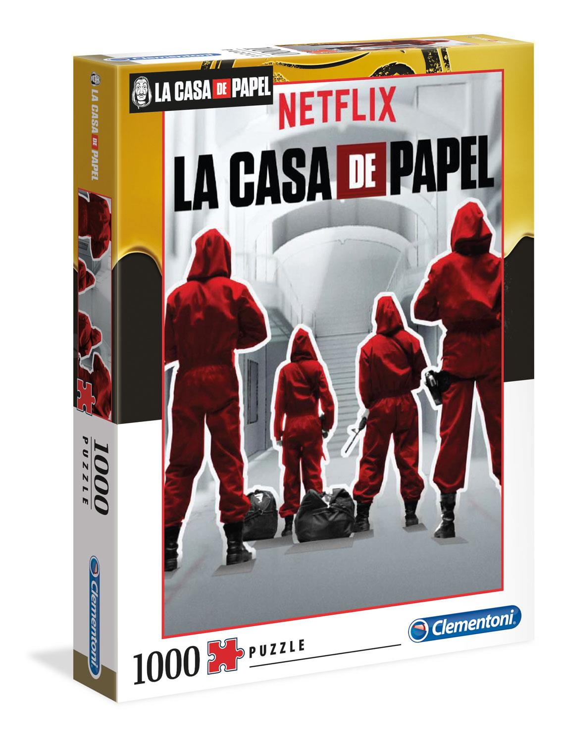 Clementoni La Casa de Papel 1 - Money Heist - Jigsaw Puzzle (1000 Pieces)