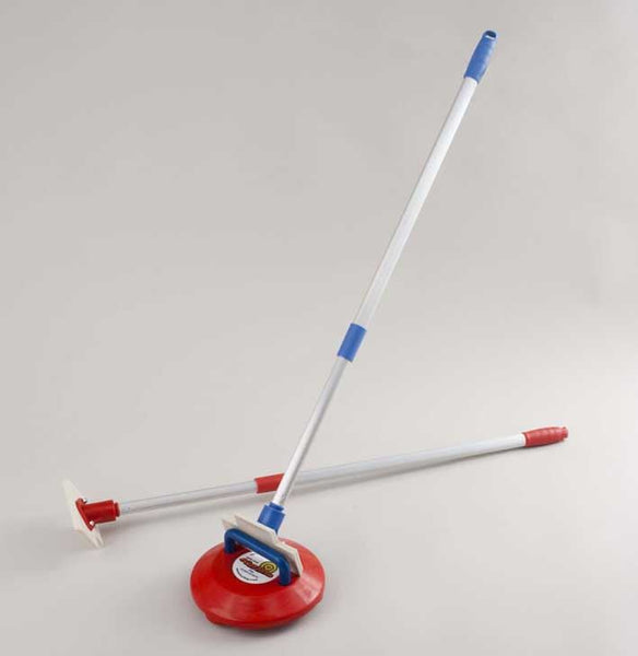 New Age Kurling Set of 2 Telescopic Pushers