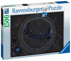 Ravensburger Map Of The Universe Jigsaw Puzzle (1500 Pieces)