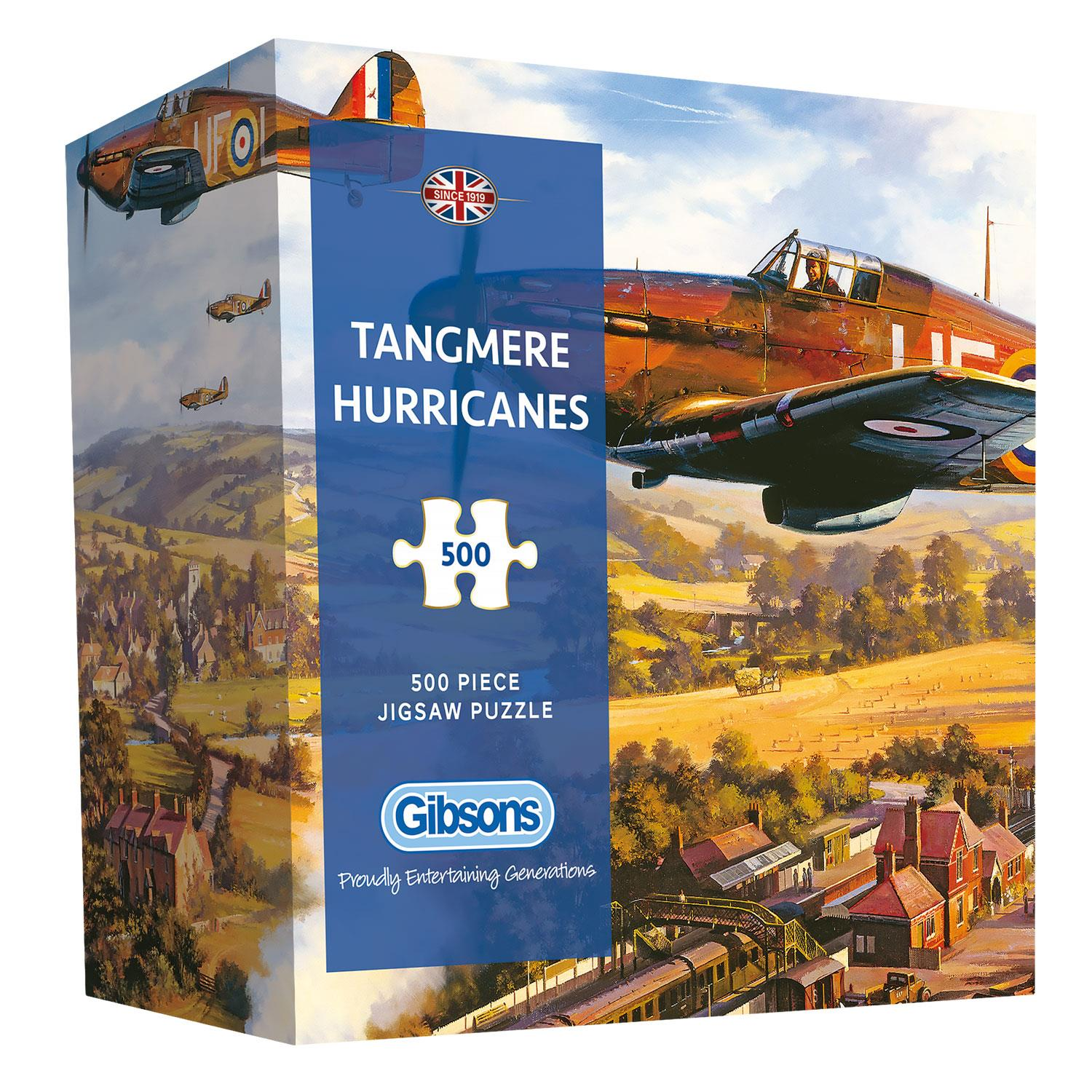 Gibsons Tangmere Hurricanes Jigsaw Puzzle in Gift Box  (500 Pieces)
