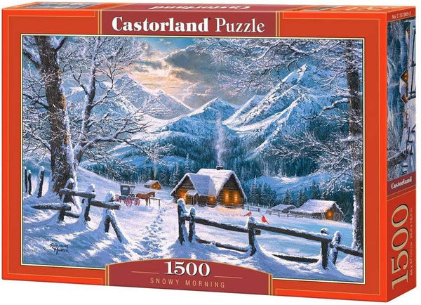 Castorland Snowy Morning Jigsaw Puzzle (1500 Pieces)