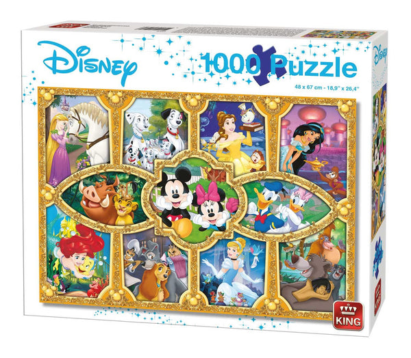 King Disney Magical Moments  Jigsaw Puzzle (1000 Pieces)