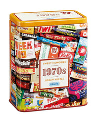 Gibsons 1970s Sweet Memories  Jigsaw Puzzle in Gift Tin (500 pieces)