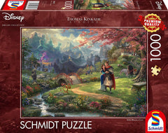 Schmidt Thomas Kinkade: Disney Mulan Blossoms of Love Jigsaw Puzzle (1000 Pieces)