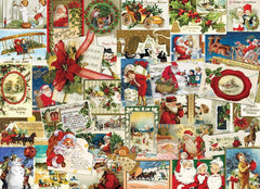 Eurographics Vintage Christmas Cards Jigsaw Puzzle (1000 Pieces)