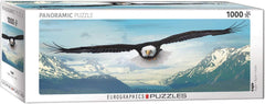Eurographics Eagle Panorama Jigsaw Puzzle (1000 Pieces)