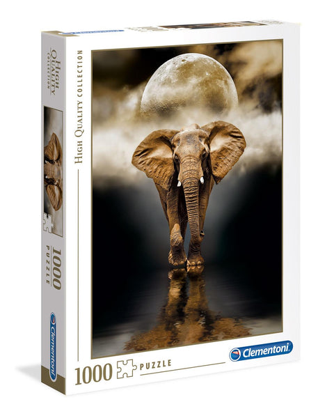 Clementoni The Elephant High Quality Jigsaw Puzzle (1000 Pieces)