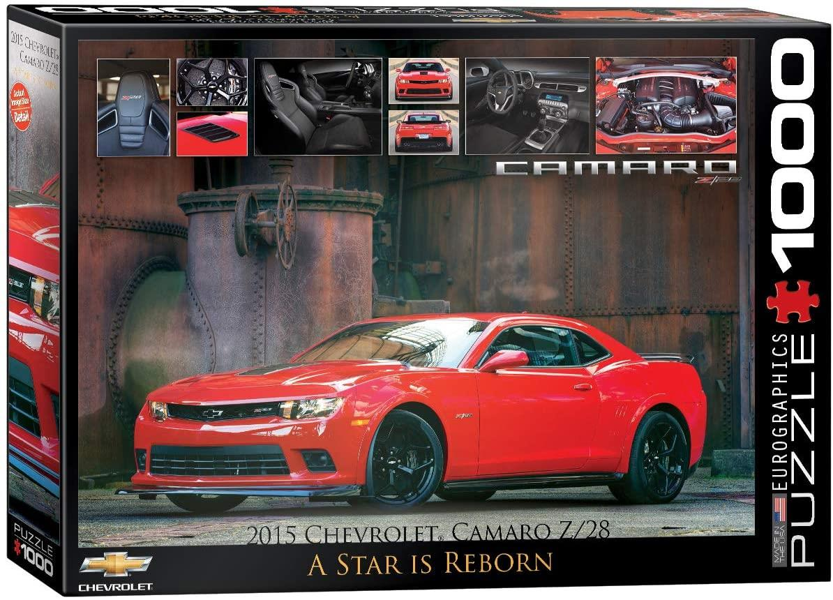 Eurographics 2015 Chevrolet Camaro Z/28 Jigsaw Puzzle (1000 Pieces)