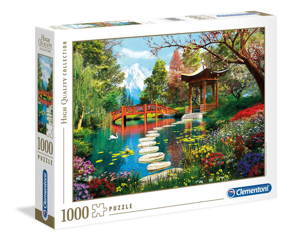 Clementoni Fuji Garden High Quality  Jigsaw Puzzle (1000 Pieces)