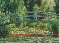 Eurographics The Japanese Footbridge, Claude Monet Jigsaw Puzzle (1000 Pieces)