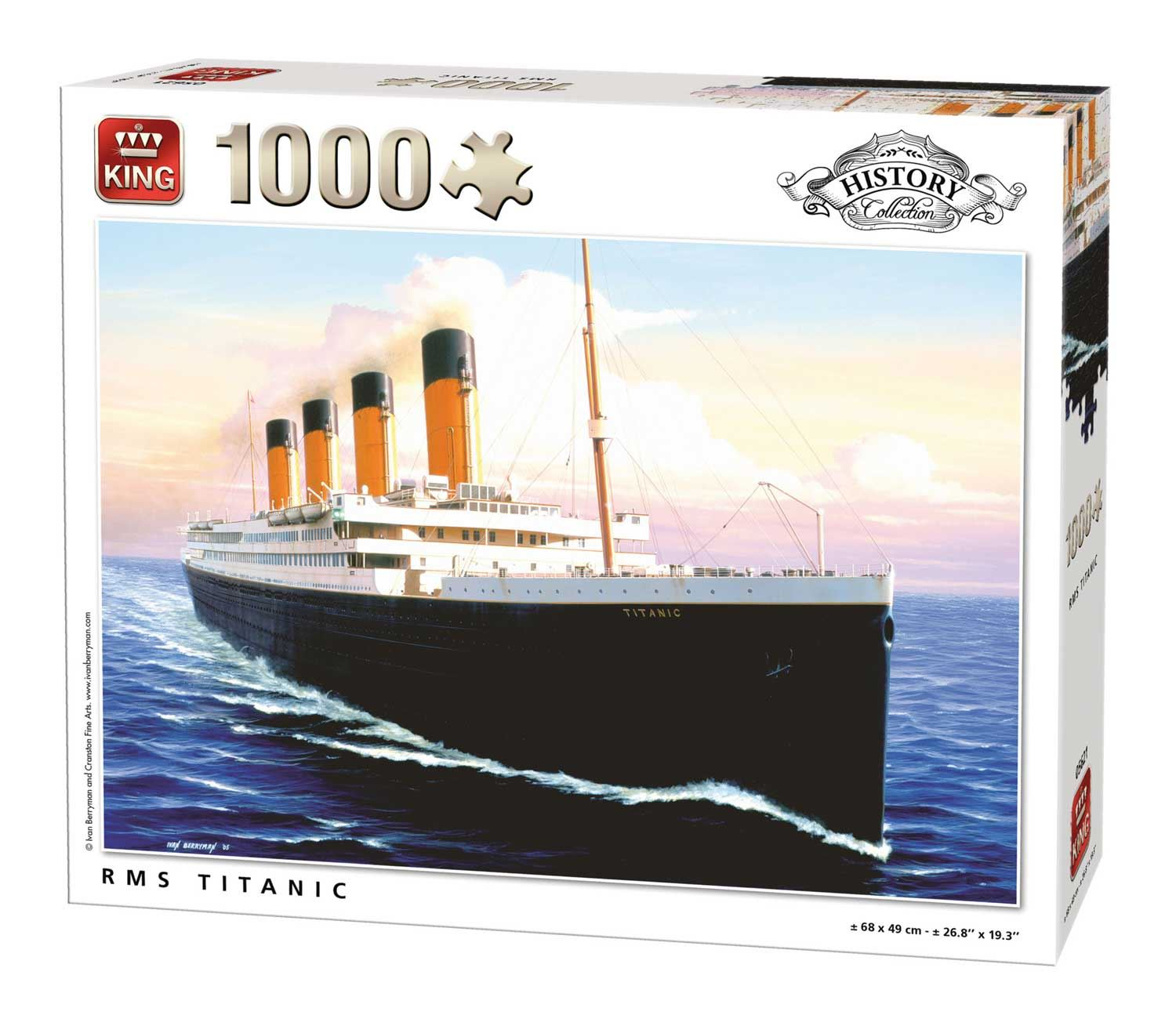 King RMS Titanic Jigsaw Puzzle (1000 Pieces)