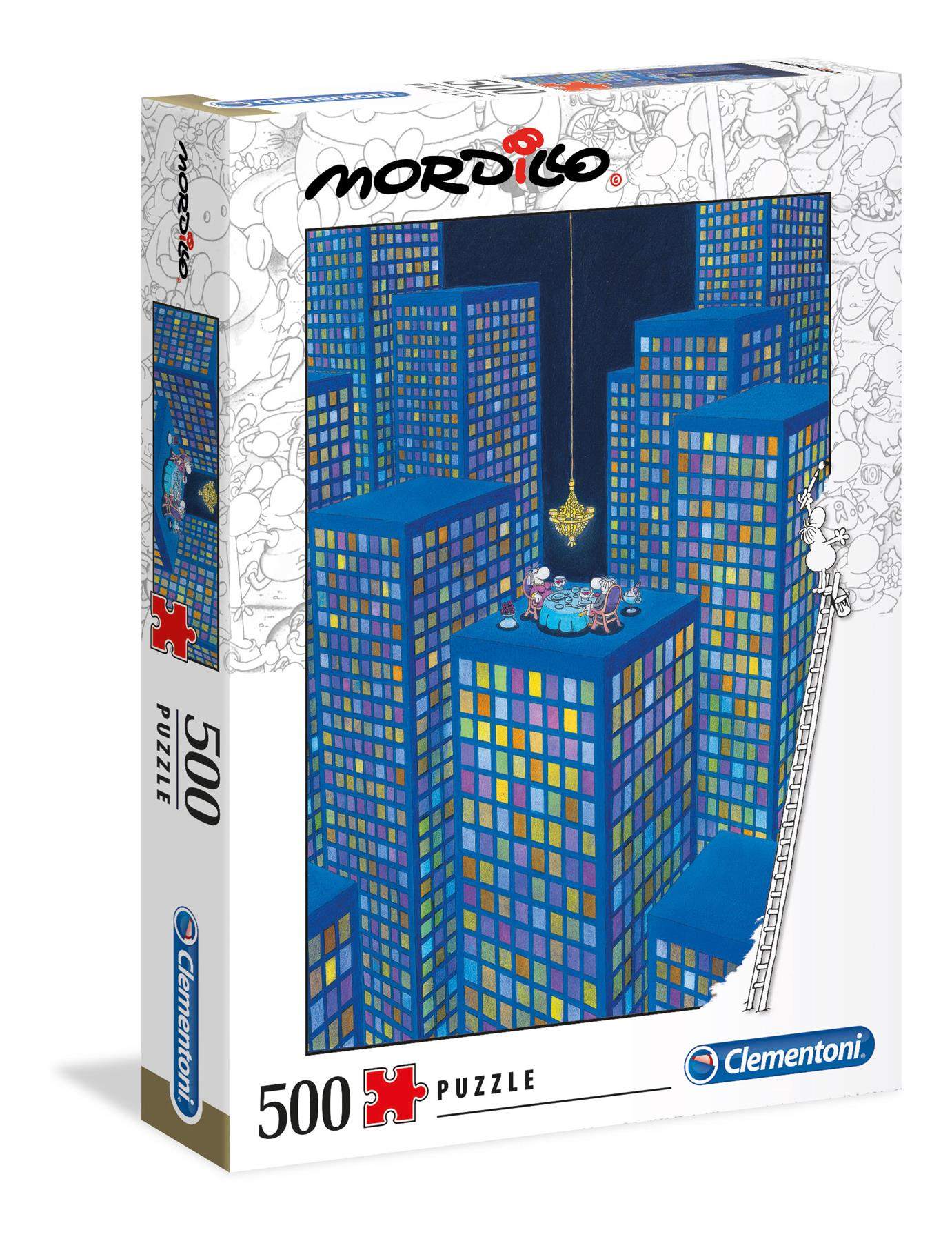 Clementoni Mordillo The Dinner High Quality Jigsaw Puzzle (500 Pieces)