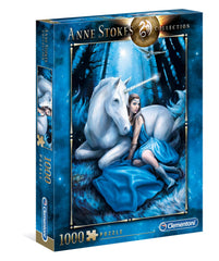 Clementoni Anne Stokes Blue Moon High Quality Jigsaw Puzzle (1000 Pieces)