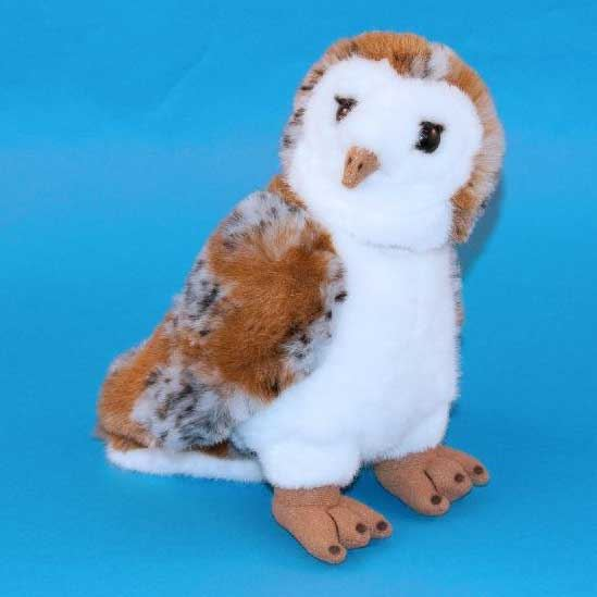 Dowman Barn Owl Soft Toy 25cm