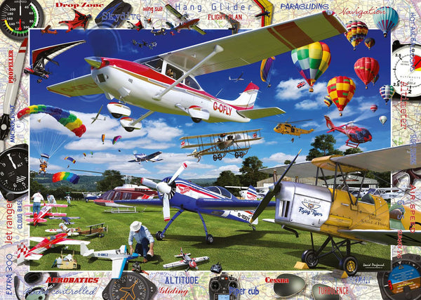 Ravensburger Take to the Skies! Jigsaw Puzzle (1000 Pieces)