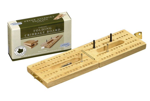 Gibsons Folding Cribbage Board