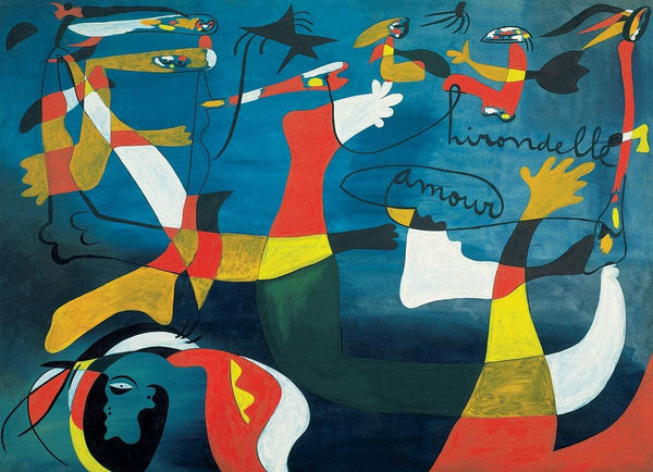 Eurographics Swallow,, Love - Joan Miro Jigsaw Puzzle (1000 Pieces)