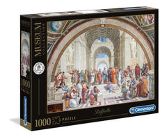 Raffaello School of Athens Vaticani Museum Collection Jigsaw Puzzle (1000 Pieces)
