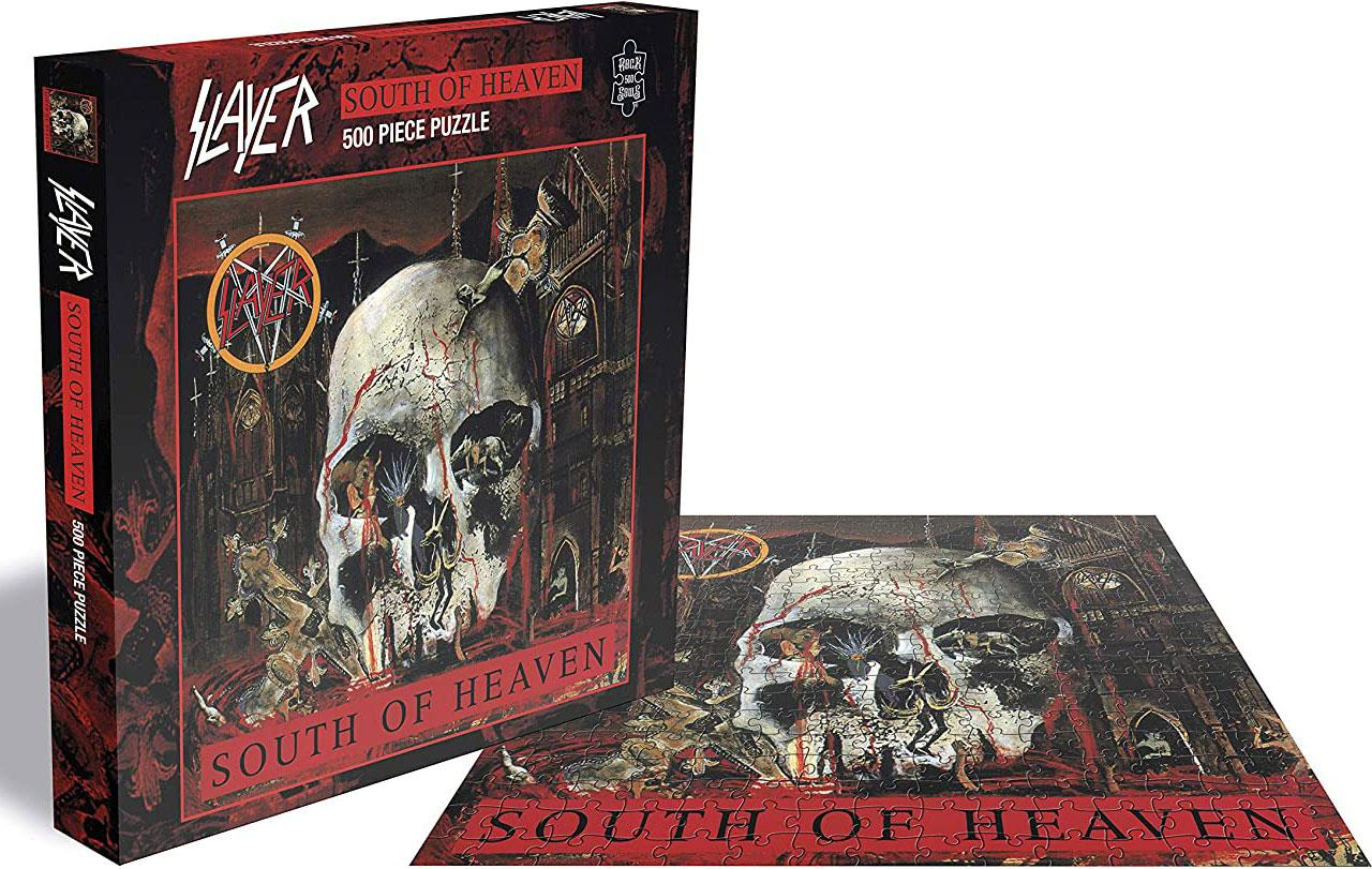 Slayer South Of Heaven Jigsaw Puzzle (500 Pieces)