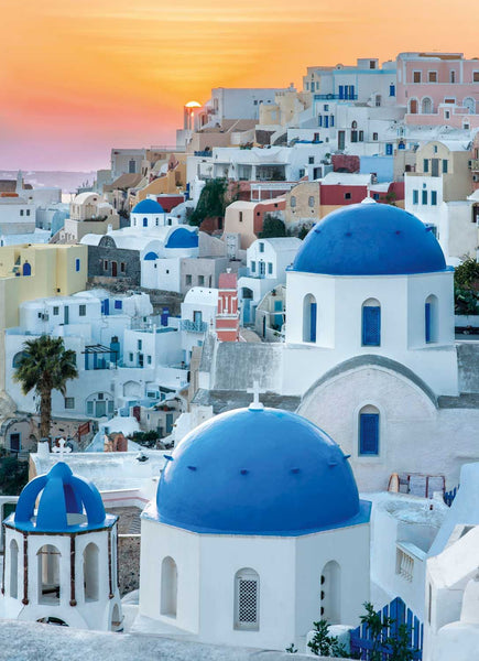 Clementoni Santorini High Quality Jigsaw Puzzle (1000 Pieces)