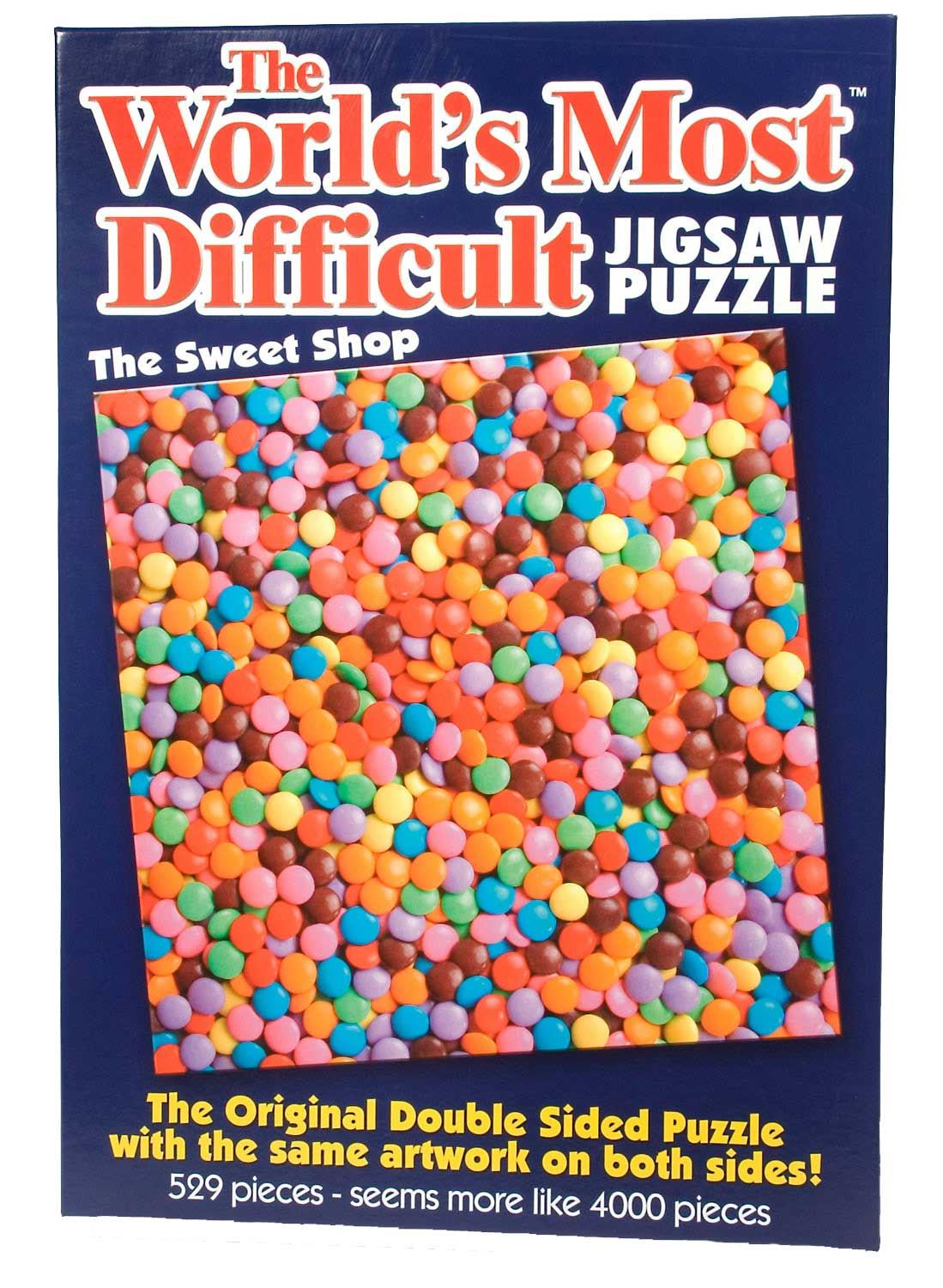 World's Most Difficult Jigsaw Puzzle - Sweet Shop (529 Pieces)