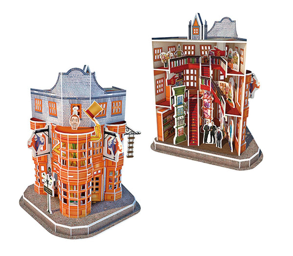 Harry Potter Diagon Alley Weasley Wizard Wheezes 3D Jigsaw Puzzle