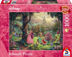 Schmidt Kinkade: Disney Sleeping Beauty Jigsaw Puzzle (1000 pieces)