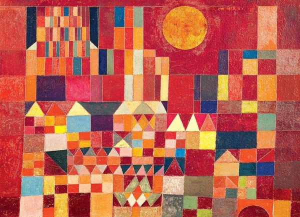Eurographics Castle and Sun, Paul Klee Jigsaw Puzzle (1000 Pieces)